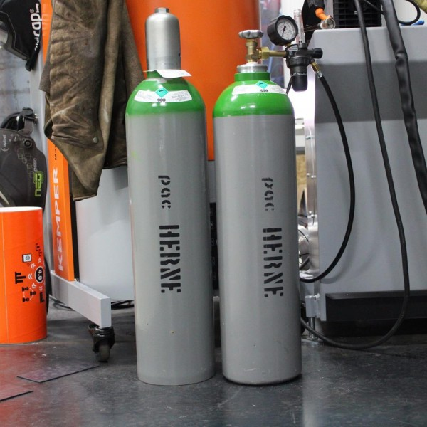 Argon 4.6 - B20 Mietflasche